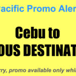 Cebu Pacific Promos Cebu Sept-Dec 2017 for as Low as P799 One-Way
