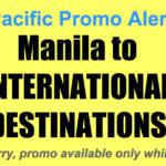 Cebu Pacific Promos Manila International Destinations for as Low as P1299