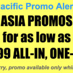 Cebu Pacific Asia Promos Nov 2017-Mar 2018 for as Low as P2599 All-In One Way
