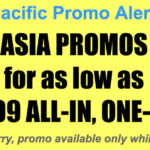 Cebu Pacific Asia Promos Oct-Dec 2017 for as Low as P3399 All-In One Way