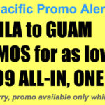 Cebu Pacific Manila Guam Promos Nov 2017-Mar 2018 for as Low as P4299 All In, One-Way