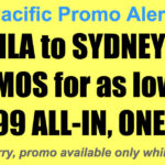 Cebu Pacific Manila Sydney Promos Jan-Jun 2018 for P5999 All In, One-Way