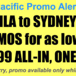 Cebu Pacific Manila Sydney Promos Nov 2017-Mar 2018 for as Low as P6999 All In, One-Way
