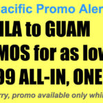 Cebu Pacific Manila Guam Promos Dec 2017-Mar 2018 for P5299 All In, One-Way