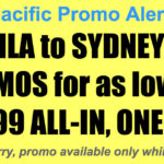 Cebu Pacific Sydney Promos Jun-Sept 2018 for P6299 All In, One-Way