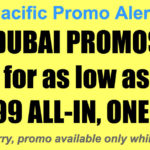 Cebu Pacific Dubai Promos Dec 2017-Mar 2018 for P6499 All In, One-Way